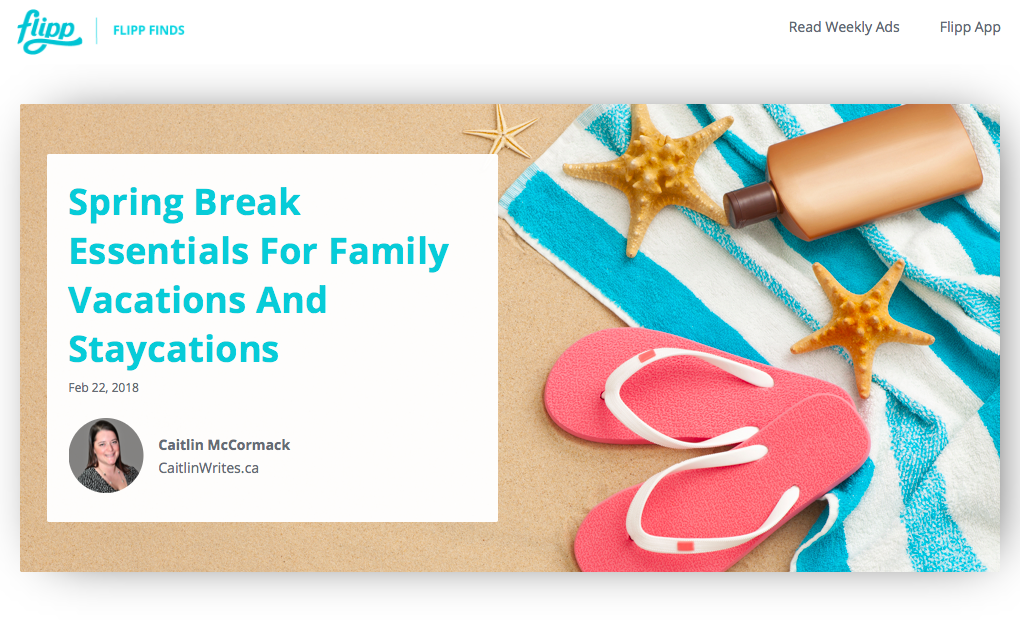 Spring Break Essentials For Family Vacations And Staycations
