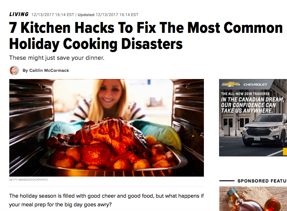 7 Kitchen Hacks To Fix The Most Common Holiday Cooking Disasters